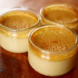 Crème aux oeufs à la Cardamome