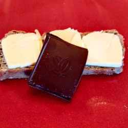Tartine au Sarrasin + Beurre + Chocolat Noir